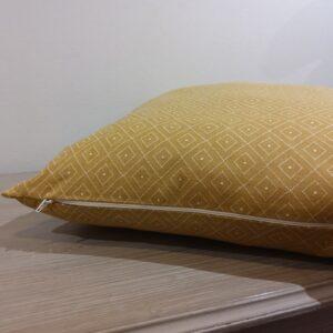Housse de coussin  textile indien 50*50 cm