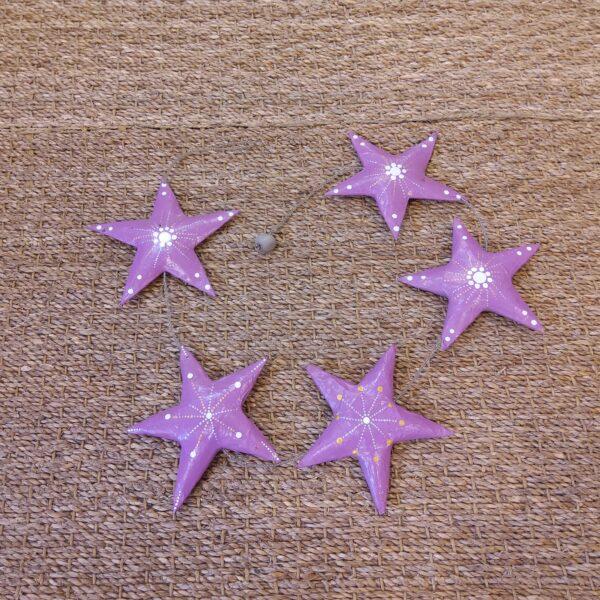 guirlande étoiles décorative