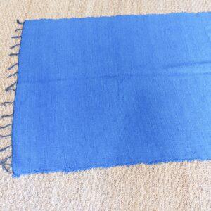 Lirette coton 1,75 cm bleu roy