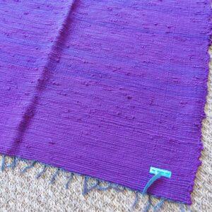 Lirette coton 1,75 cm violette