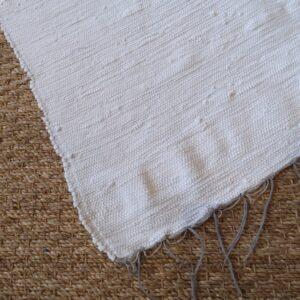Lirette coton 1,75 cm blanche