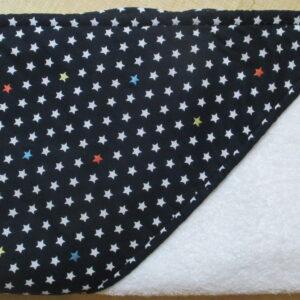 Cape ou carré de bain étoiles